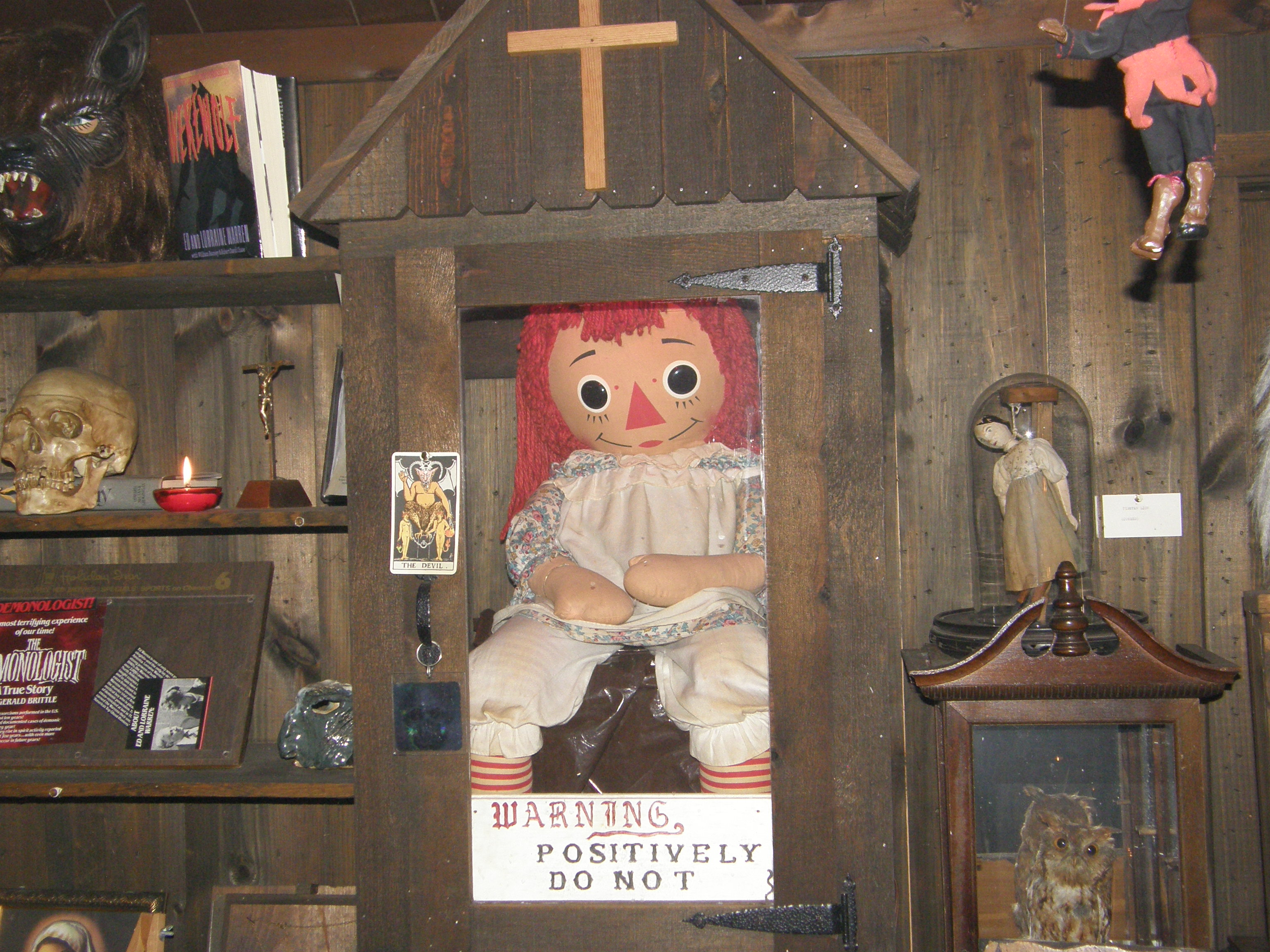 The True Story Of Annabelle The Haunted Doll Light